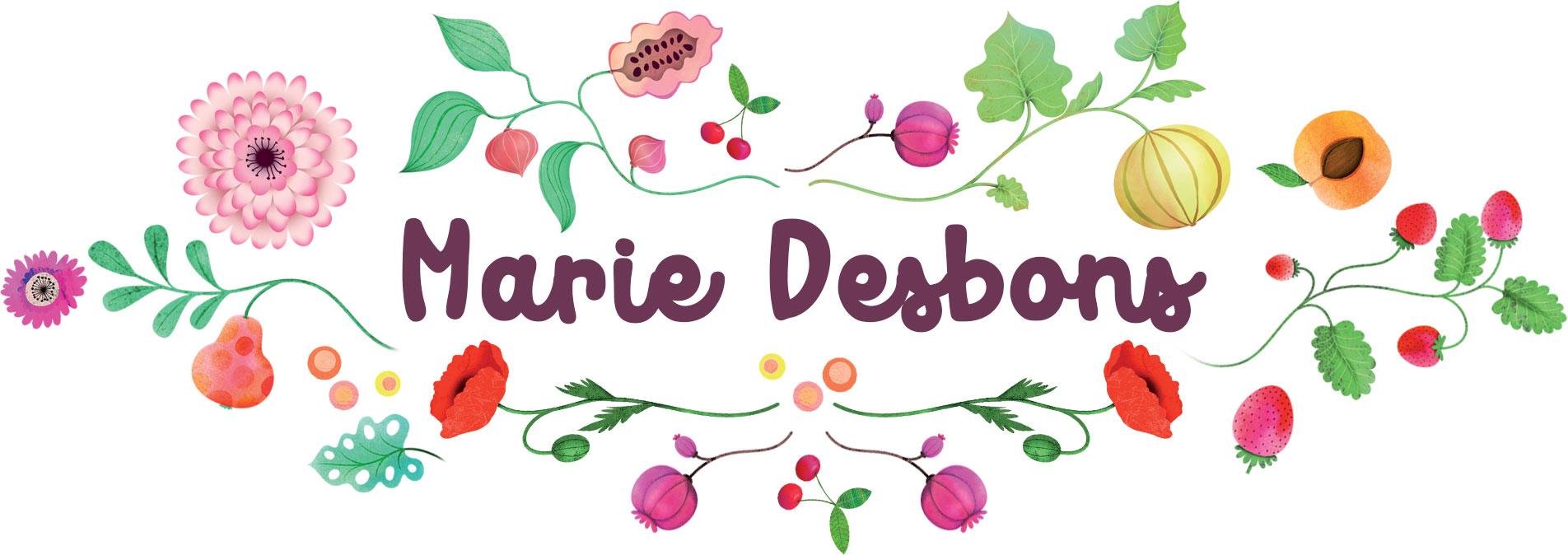 Portfolio Marie Desbons